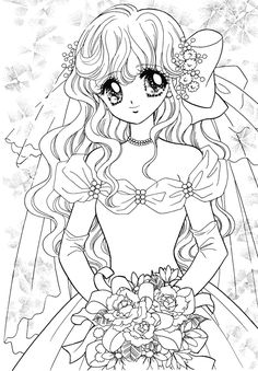 Meiko from Marmalade boy coloring pages for kids