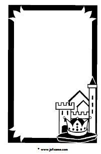 Twinkl Resources >> Castles and Knights Page Borders
