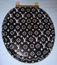 Louis Vuitton Toilet seat!