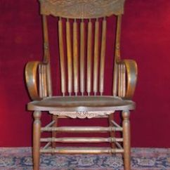 Wooden Rocking Chair Plans Covers And Wedding Decorations Antique With Carved Face - Woodworking Projects &