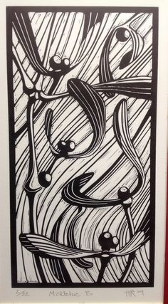 1000 Images About Holiday Linocut Inspiration On