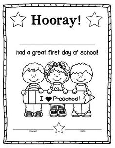 1000+ ideas about Preschool First Day on Pinterest