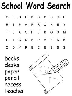 Second Grade Sight Words Word Search Puzzles (2 Puzzles
