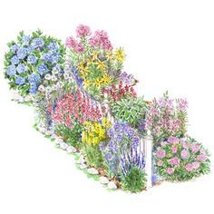 6 Steps To A No Work Cottage Garden Gardens Beautiful And Flower