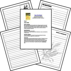 Sign of the Beaver Free Printable Novel Study and Test