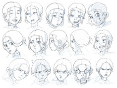 Joy Expressions model sheet for SB by *tombancroft on
