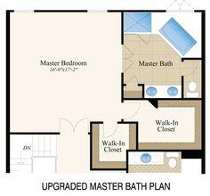 12 x 12 master bath with walk in closet WITH SHOWER NO TUB  Master Baths 12x12 Free Ideas