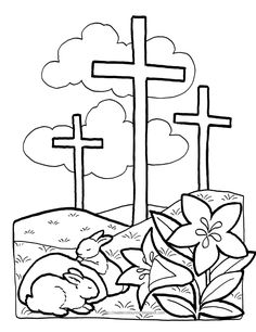 1000+ images about Easter Coloring Pages Group Board on