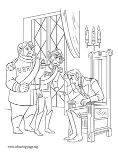 The Winter Soldier Captain America Coloring Page