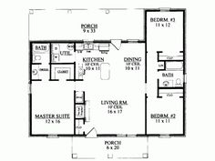 1000+ images about Rambler floor plans 1000-1400 sq ft on