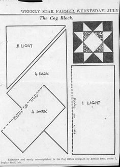 1000+ images about HANDQUILT/EPP PATTERNS B/W on Pinterest