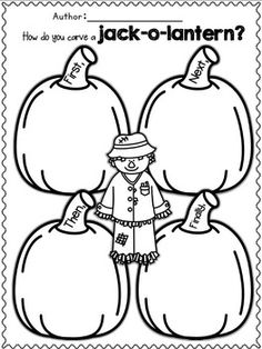 1000+ images about First Grade Pumpkin Theme on Pinterest