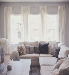1000 Ideas About Ivory Living Room On Pinterest High Curtains Living Room Curtains And Copy