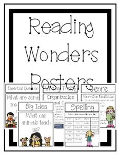 4th Grade McGraw-Hill Reading Wonders Unit 4 Study Guides