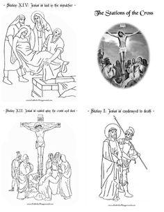 Catholic symbols for the 7 Sacraments, illust. by: Sister