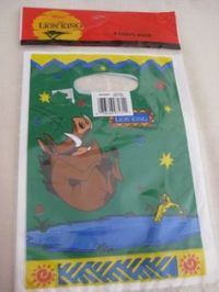 Disney The Lion King Party Tablecloth Table Cover Hakuna ...