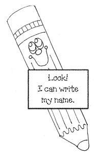 Name writing activities, Name writing and Writing
