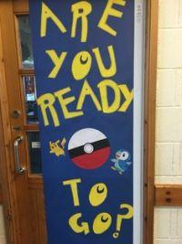 Back to school pokemon go door decor   Back to school ...