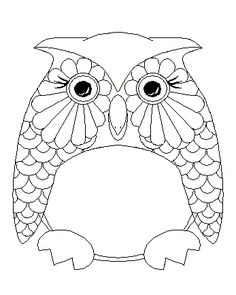 1000+ images about Coloring Pages {Owls} on Pinterest