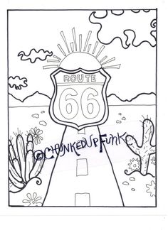 Navajo National Monument Coloring page at GilaBen.com