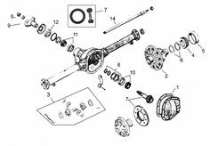 1000+ images about Jeep Rear Axle Parts on Pinterest