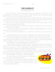 Context Clues Worksheet 1 ELA-Literacy.L.7.4a Language
