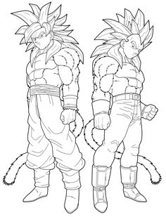 1000+ images about Dragon Ball Z Coloring Pages on