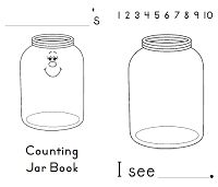 Estimation Jar worksheet from First Grade Schoolhouse