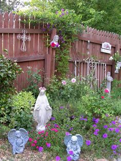 Idea For Mary's Garden! Check This Out Julie! Julie Fraser
