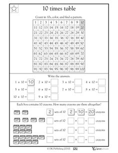 Dads Worksheets Spaceship Math Multiplication