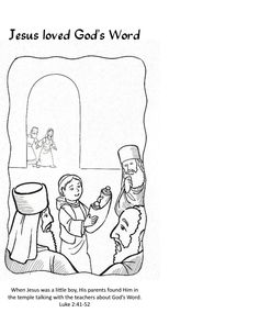 Parables coloring pages, Jesus' parables coloring pages