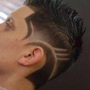 1000 shaved hair
