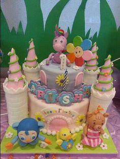 Babyfirst Tv Cake First Birthday Tilley Rainbow Horse