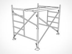 Bil Jax Style Internal Stair Scaffolding Tower Packages