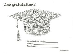 End of The Year Preschool Diploma, Certificate or Award