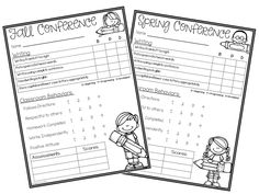 Freebie! Great sign-in sheet to use at parent/teacher