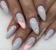 baby pink stiletto nails spring summer