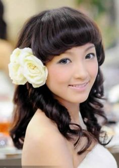 Chinese Female Hairstyles Chinese Hairstyles Pinterest