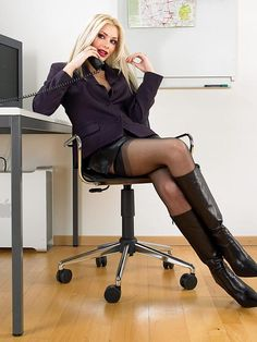 pink high heel chair wicker chairs outdoor crossed legs at the office on pinterest | dating, and black pantyhose
