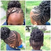 hairstyle cornrows