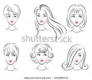 1000 cartoon hairstyles