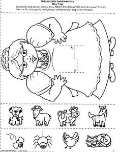 1000+ images about There was an old lady who swallowed on