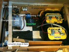 rv converter wiring diagram for light bar rocker switch 1000+ images about camper on pinterest | vintage trailers, pergolas and fresh water tank