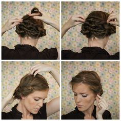 Prom Updos Get Milkmaid Braids For Prom Formal' Milkmaids And
