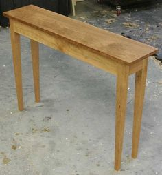 ... Plans on Pinterest | Sofa Tables, Console Tables and Woodworking Plans