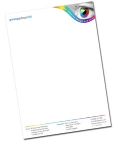 Letterhead examples, Letterhead and Stationary design on