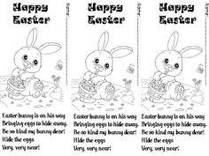 Poem, Bunnies and Easter poems on Pinterest