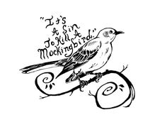 1000+ ideas about Mockingbird Tattoo on Pinterest