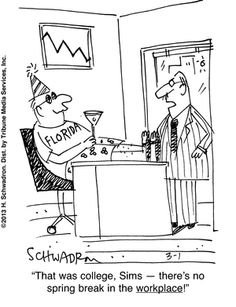 9 to 5 Comic Strip by Harley Schwadron (September 19, 2012