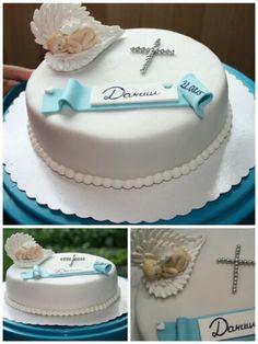 Kommuniontorte fr Jungen mit Anleitung  Cake first holly Tutorial  Kommunion Torte  First